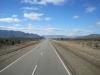 Patagonie:  Silnice (Routa 40) protínající Patagonii