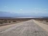 Krajina na severu Argentiny - ne všude jsou silnice vyasfaltované