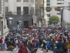 Jedna z četných demonstrací v La Pazu