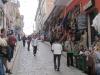 Pouliční stánky v turistické části La Pazu