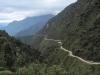 Region Yungas - východní svah Andského pohoří nedaleko La Pazu