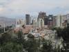 Moderní část města La Paz