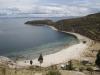 Jezero Titicaca: Pláž na ostrově Slunce (Isla del Sol)