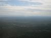 Výhled na Amazonský prales z letadla