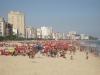 Pláž ve čtvrti Leblon, Rio de Janeiro