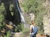 Vodopád nedaleko Santiaga