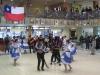 Santiago: Tradiční tance během oslav nezávislosti na Registračním úřadě
