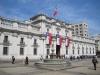 Santiago: prezidentský palác Moneda