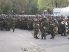 Santiago: vojenská přehlídka