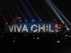 Santiago: prezidentský palác Moneda během oslav nezávislosti