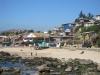 Rybářská vesnička ve středním Chile