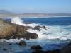 Oceán nedaleko města Viña del Mar