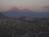 Sopka nedaleko městečka San Pedro de Atacama