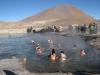 Termální lázně nedaleko městečka San Pedro de Atacama
