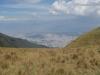 Quito jak je vidět z jednoho z okolních kopců