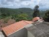 Výhled na vzdálenou Tegucigalpu z městečka Santa Lucia