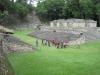 Mayské město Copán - hřiště