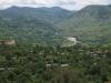 Krajina v severozápadním Hondurasu