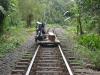 San Cipriano: moto-železnice, místní způsob přepravy