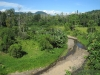 Krajina nedaleko Bribri - jihovýchod Kostariky