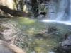 Schovaný vodopád nedaleko vesnice Bribri