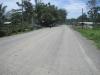 Špatná hlavní cesta nedaleko nedaleko vesnice Puerto Viejo