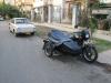 Havana: Zaparkovaná Škoda 100 a Jawa 350