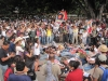 Jih Mexika: město Oaxaca - protest proti násilí v Mexiku