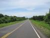 Jedna z mnoha nových silnic v Nikarague