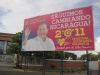 Managua - volební billboard