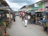 Trh ve městě Ocotal