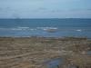 Lodě řadící se pro vjezd do Panamského průplavu