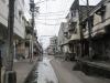 Ulice v chudém přístavním městě Colón