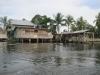 Chudší obydlí v Bocas del Toro