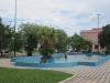 Asunción: Děti se koupou ve středu města