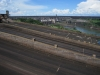 Přehrada Itaipú na hranici s Brazílií