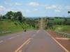 Silnice na východě Paraguaye