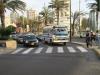 Lima: Jeden z tisícovky mikrobusů a taxík. Hlavní způsob dopravy po městě