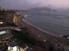 Lima: Pláž přilehlá k městským částem Miraflores a Barranco