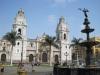 Lima: katedrála (Plaza de Armas)