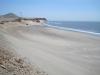 Jedna z mnoha pláží na severu Peru