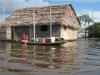 Amazon: Takzvaný plovoucí dům na Amazonce