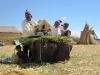 Jezero Titicaca: indiáni Aymara ukazují, jak si stavějí dům a svůj ostrov