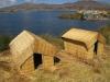 Jezero Titicaca: Tradiční obydlí