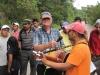 Otec Rogelio Ponseele na výročni cestě do El Mozote