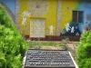 Zahrada zesnulých dětí v El Mozote, kde v roce 1981 armáda zabila stovky lidí, především žen a dětí