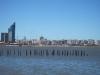 Montevideo a nejvyšší budova země (státní telekom)