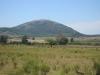 Jeden z mála kopců v Uruguayi
