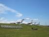 Soukromé letouny nedaleko letoviska Punta del Este