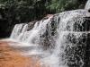 Jeden z mnoha stovek překrásných vodopádu ve Venezule